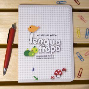 Cuaderno lengua de trapo. Picnic